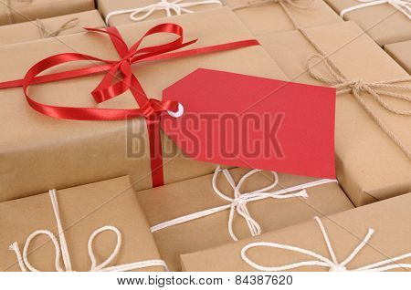 Brown Paper Packages And Gift