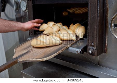 Hot Baked Bread
