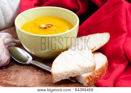Home Made Squash Soup