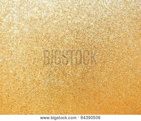 Gold Texture Glitter Background