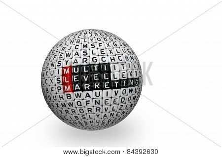 Mlm ,multi Level Marketing 3D Ball