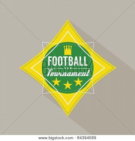 Soccer Or Football Tournament Badge
