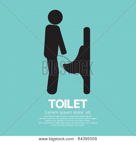 Men Toilet Sign.