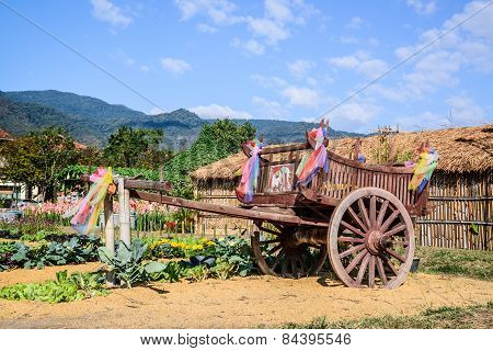 Wooden Wagon Thai Style.