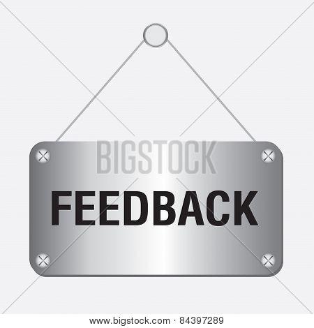 silver metallic feedback