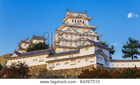 Himeji Castle in Hyogo Prefecture in Japan