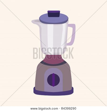 Kitchenware Juicer Theme Elements Vector,eps