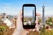 foto of gaudi barcelona  - travel concept  - JPG