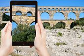 pic of aqueduct  - travel concept  - JPG