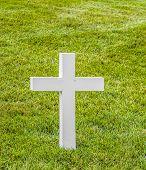 stock photo of arlington cemetery  - graves at Arlington national Cemetery in Washington - JPG