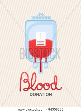 Digitally generated blood donation vector