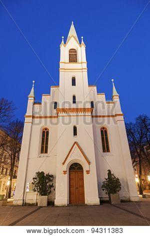 Schlosskirche At Sunset