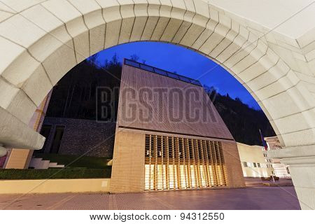 Liechtenstein Parliament Building