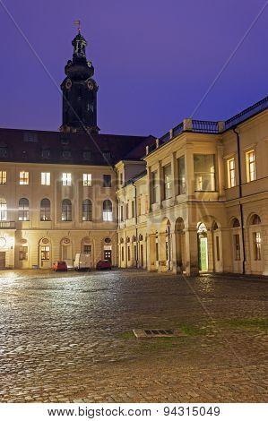 City Castle In Weimar