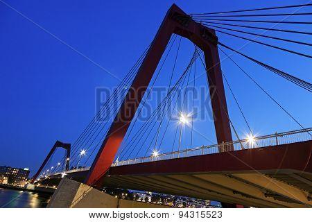 Williams Bridge In Rotterdam