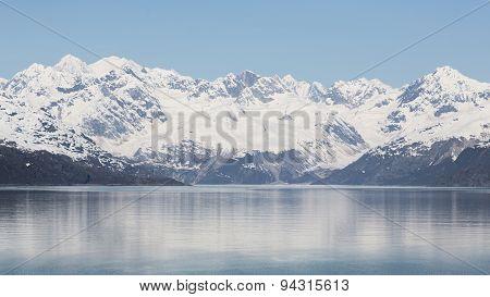 Alaska's Mountainous Glacier Bay
