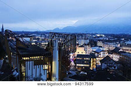Vaduz Seen Evening Time