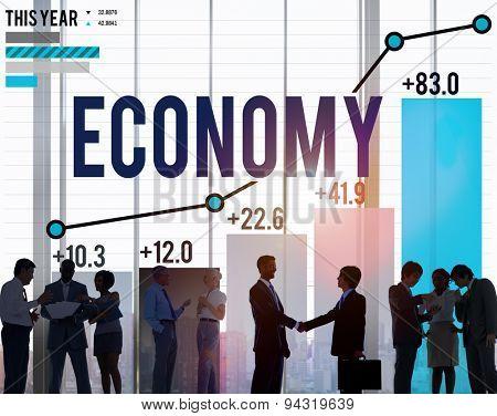 Economy Banking Finance Investment Money profit Concept