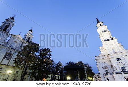 Church Of St. Francis Xavier And City Hall, Kaunas