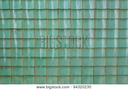 Chinese Green Glazed Tile
