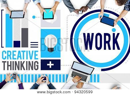 Work Working Job Career Business Collaboration Concept