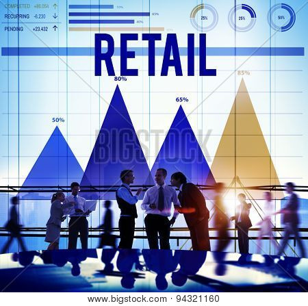 Retail Commerce Consumer Customer Capitalism Concept