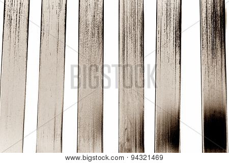 Black And White Metal Lath