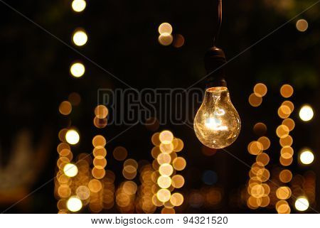 The One Bulb Light Stand Alone