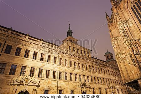 Nuremberg Old Town Hall - Lochgefaengnisse