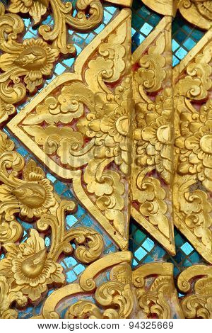 Stucco Flower Thai