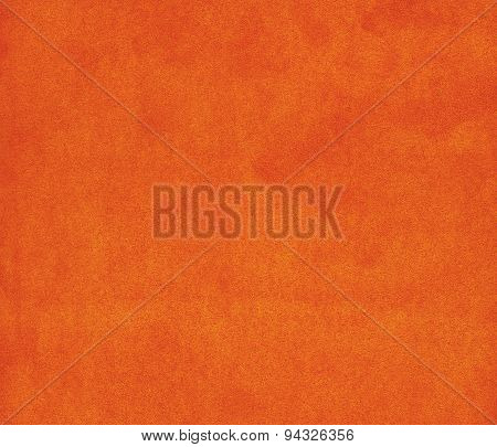 Background with orange texture, velvet fabric