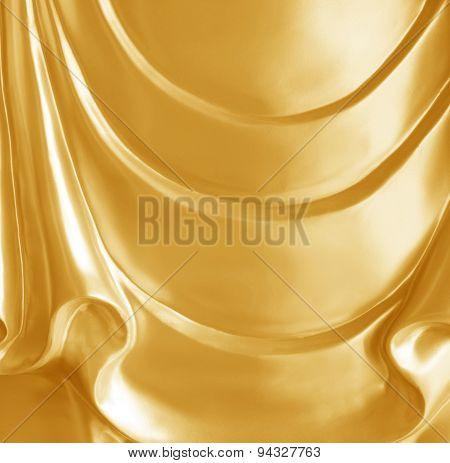 Gold Metal Buddha Statues