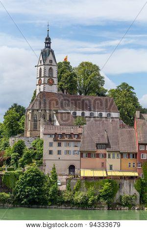 View over Laufenburg