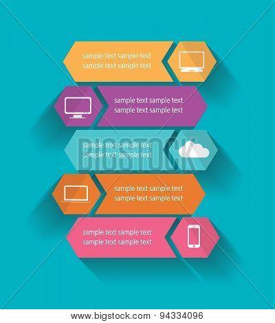 Infographic Computer Elements