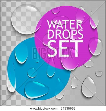 Pure Water Drops Set