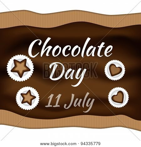 Chocolate day.