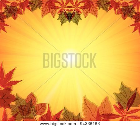 Happy Thanksgiving vector illustration Design Elements