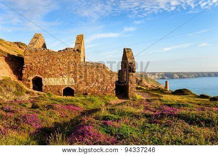 Mining Ruins At St Agnes