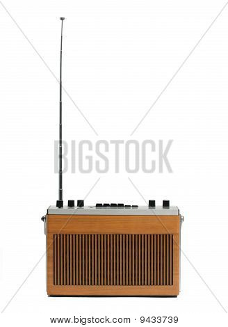 Retro Vintage Radio With Aerial