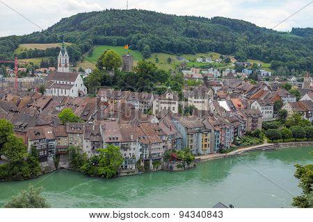 Border town Laufenburg