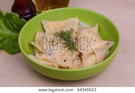 Ukrainian Porato Dumplings - Vareniki