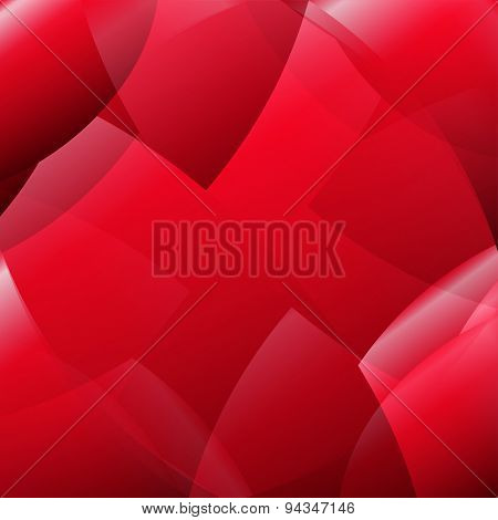 Abstract pattern red background
