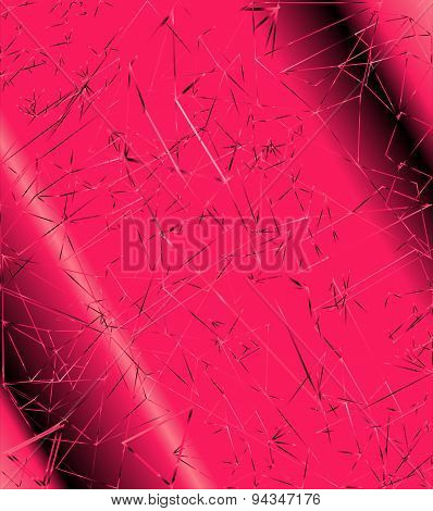 Abstract polygonal pink background for Your design