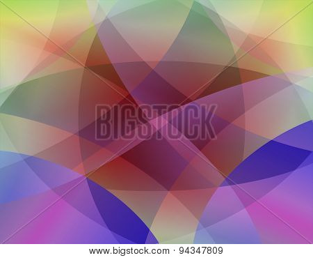 PriColorful smooth twist light lines background
