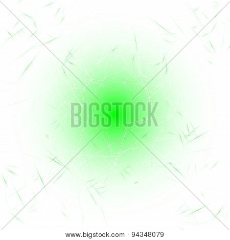 Green and White Modern Lines Background