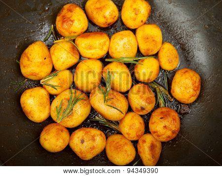 Fried Baby Potatoes