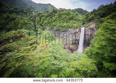 In the top 3 waterfalls in Japan. Kegon Falls, Nikko