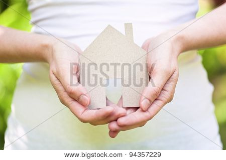 home insurance, safe house concept