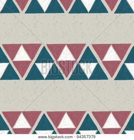 seamless hand drawn geometric pattern