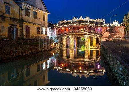 Japanese Bridge In Hoi An Ancient Town, Vietnam